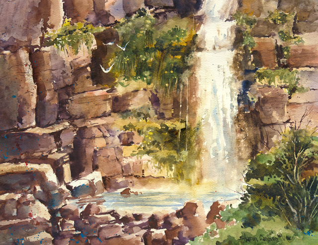 Stewart Falls: Oh Thou Rock of My Salvation